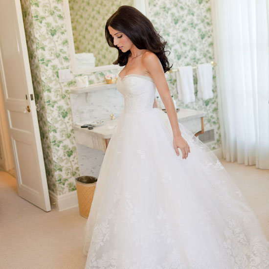 "Wedding Dress Shopping Tips From Brides Once you take care of early must dos after your engagement, it's time to start the wedding dress hunt! I thought I'd share with you the words of wisdom I gleaned from my married and soon-to-be-married friends when I was searching for ""the one."" So, from friend to friend, here are dress shopping tips from my wonderfully helpful and sweet gal pals. Photo by Erin Hearts Court via Style Me Pretty"