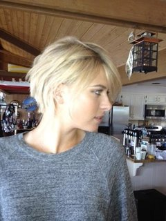 Maria Sharapova Gets a Shaggy Crop