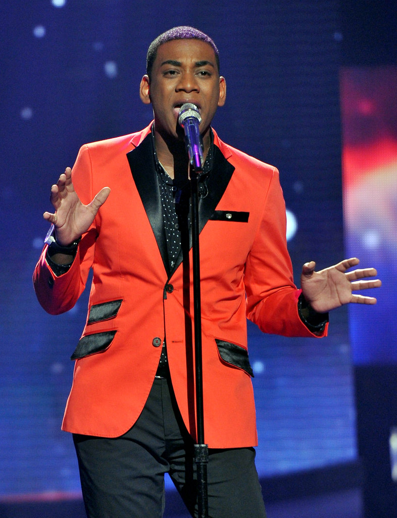 "Joshua Ledet performed Fantasia's ""I Believe."""