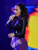Jessica Sanchez was back and full of energy.