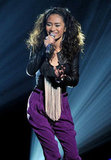Jessica Sanchez wowed the crowd.
