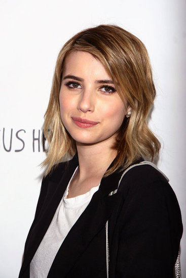 Emma Roberts came out to support her aunt, Julia Roberts, at their premiere of Jesus Henry Christ.