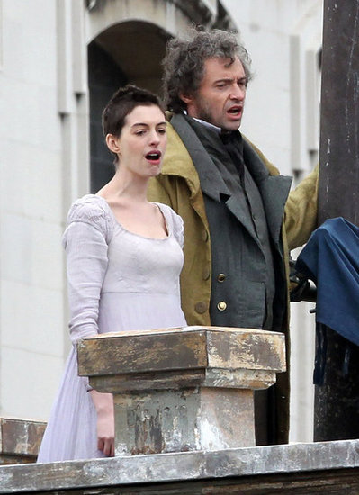 Anne Hathaway and Hugh Jackman belted out a song.
