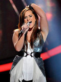 Skylar Laine got praise from the judges for both of her songs.