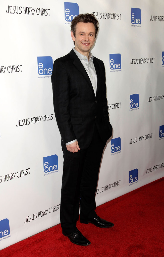 MIchael Sheen posed for the camera at the Jesus Henry Christ premiere in Hollywood.