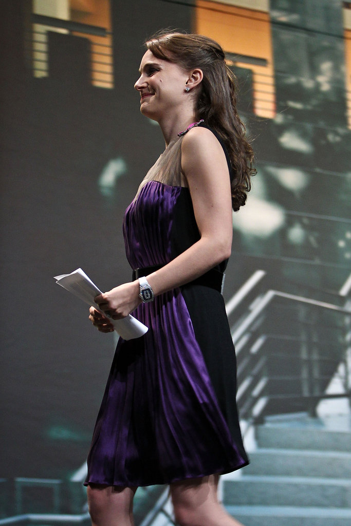 Natalie Portman took the stage at the 2012 Elie Wiesel National Tribute Dinner.