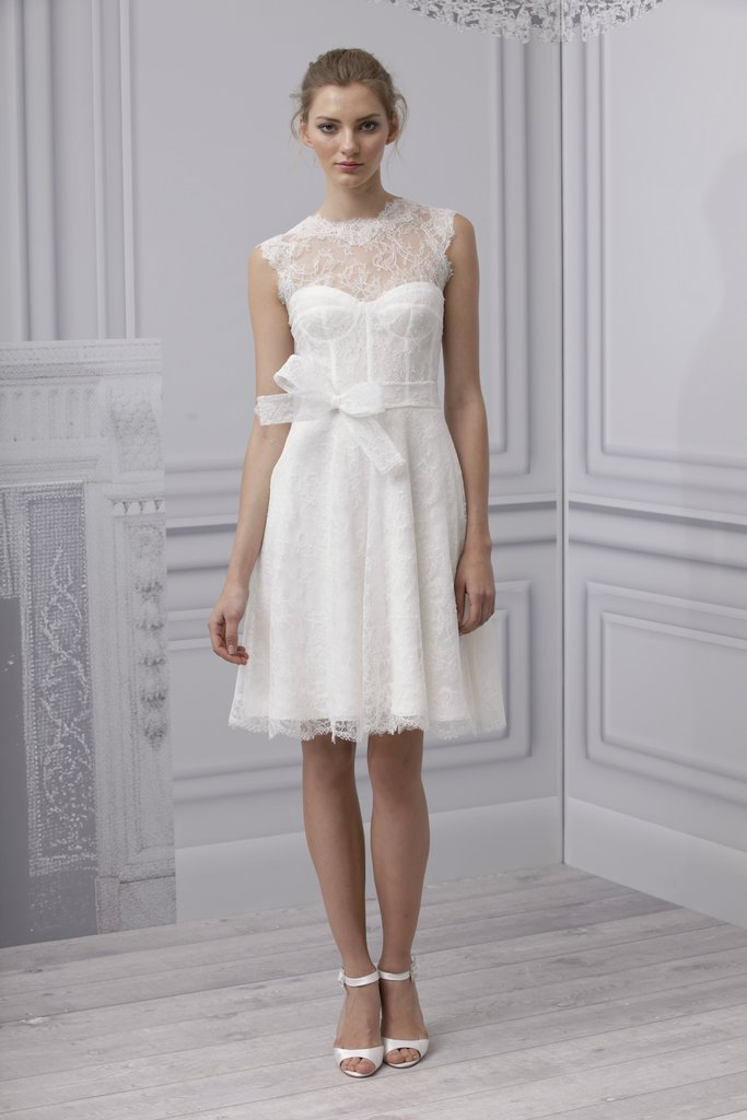 Monique Lhuillier Bridal Spring 2013