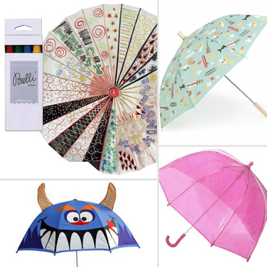 A Dozen Kids Umbrellas to Brighten Rainy Days