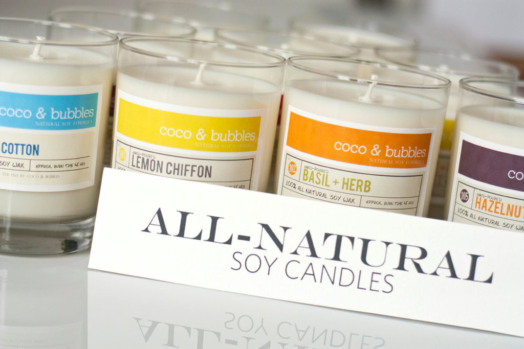 All-Natural Soy Candles