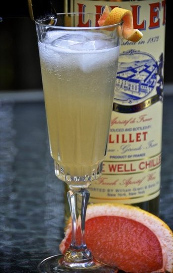 Lillet Grapefruit Sparkler