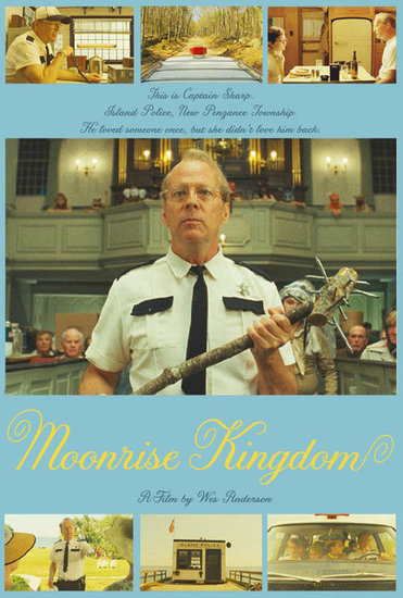 Bruce Willis in Moonrise Kingdom