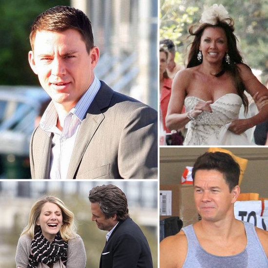 Channing Tatum, Mark Wahlberg, and More Stars on Set!