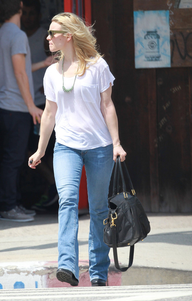 Rachel McAdams had a spa day in LA.