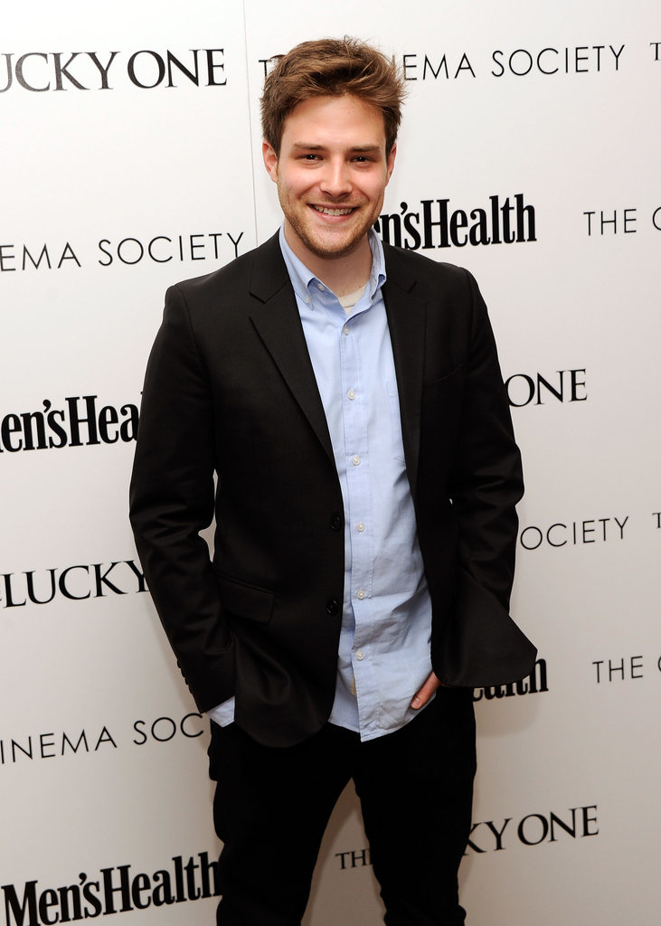 Ben Rappaport attended the Cinema Society and Men's Health screening of The Lucky One in NYC.