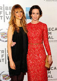 Lynn Shelton and Emily Blunt got together at the premiere of Your Sister's Sister during the 2012 Tribeca Film Festival.