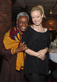 Bethann Hardison and Olivia Wilde were all smiles at the 2012 Tribeca Film Festival Jury lunch.