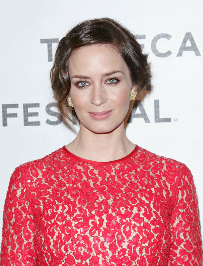 Emily Blunt had her second Tribeca Film Festival premiere of the week.