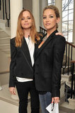 Stella McCartney was joined by Kate Hudson at the Vogue Festival.
