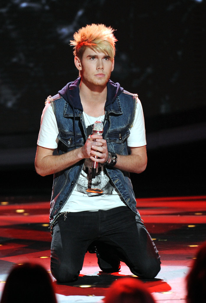 Colton Dixon performed a final time before being sent home.