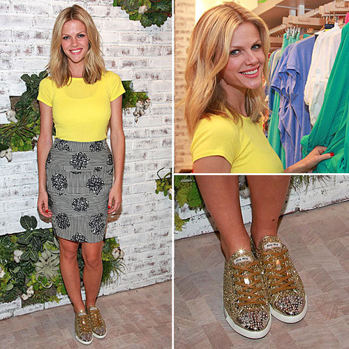 Brooklyn Decker Miu Miu Sneakers