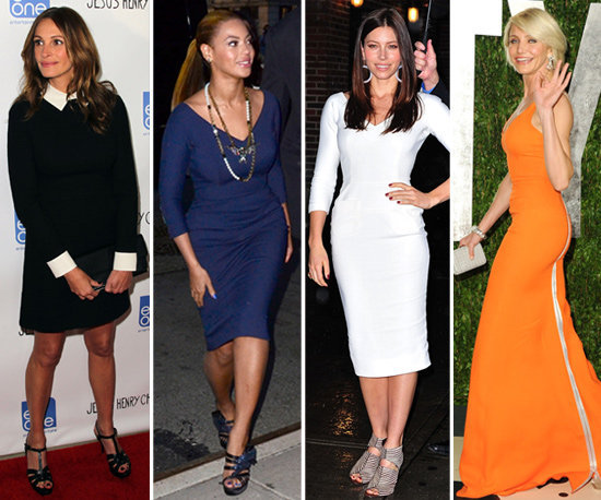 Get a look at all the celebrities who love Victoria Beckham's designs.