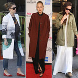 Celebs Prove Coats Aren't Only For Winter — 9 Stylish Reasons to Bust Yours Out Now