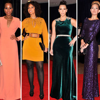 All The Stars Arrive On The Red Carpet For The White House Correspondents' Dinner In Washington DC