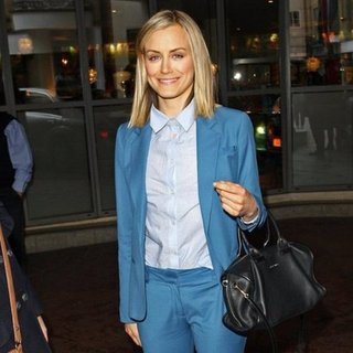 Female Celebrities in Suits