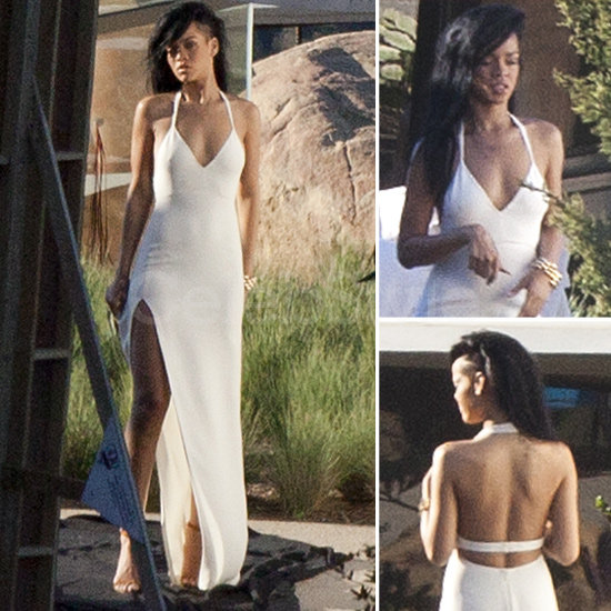 "Rihanna Dons a Sexy White Gown — 6 Equally Sultry Styles For Your ""I Dos"""