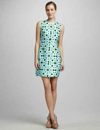 Kate Spade New York Mariam Sleeveless Print Dress ($398)