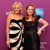 Malin Akerman and Jenna Fischer Giant Mechanical Man Premiere