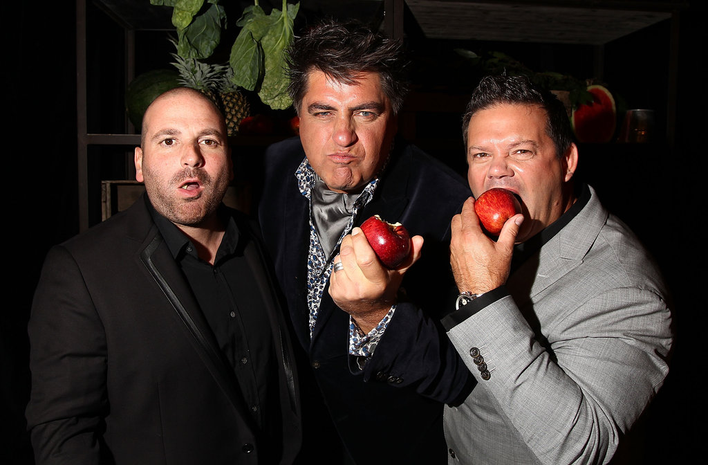 George Calombaris, Matt Preston and Gary Mehigan