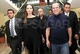 Angelina Jolie traveled to Ecuador for a meeting with the Ecuadorian Foreign Minister.