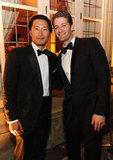 Daniel Dae Kim and Matthew Morrison