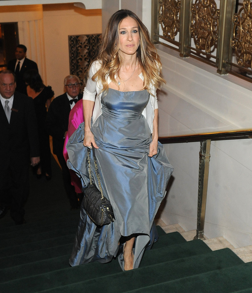 Sarah Jessica Parker donned a ball gown.