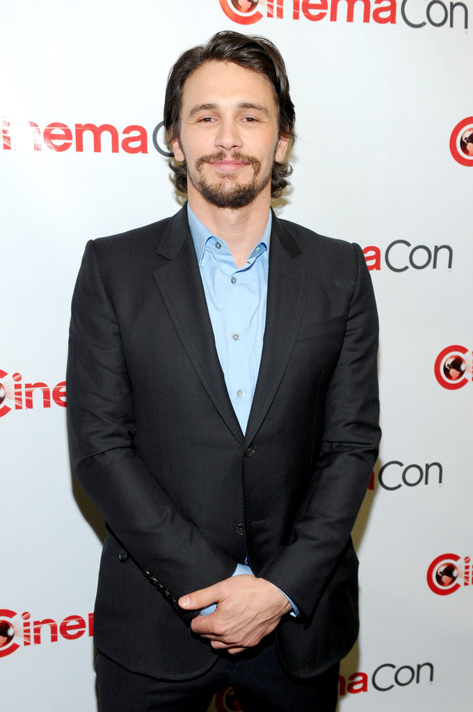 James Franco attended CinemaCon in Las Vegas.