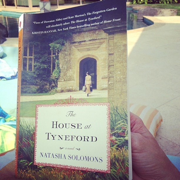 """Kristamoatz got her """"Downton Abbey-esque fix"""" with The House at Tyneford by Natasha Solomons."""