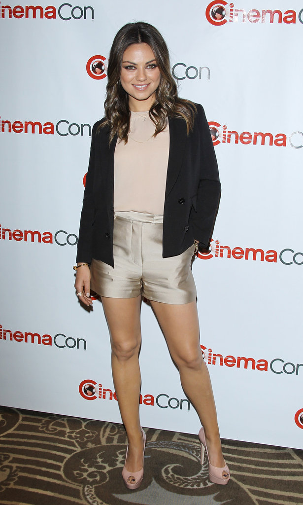 The black double-breasted Phillip Lim blazer was a smart way to top her look since it provided a contrast against all the neutrals. Plus it sharpened things up even more.  Love Mila's look as much as we do? Shop similar pieces below! 6775798