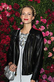 Poppy Delevigne attended the Chanel dinner party at the 2012 Tribeca Film Festival.