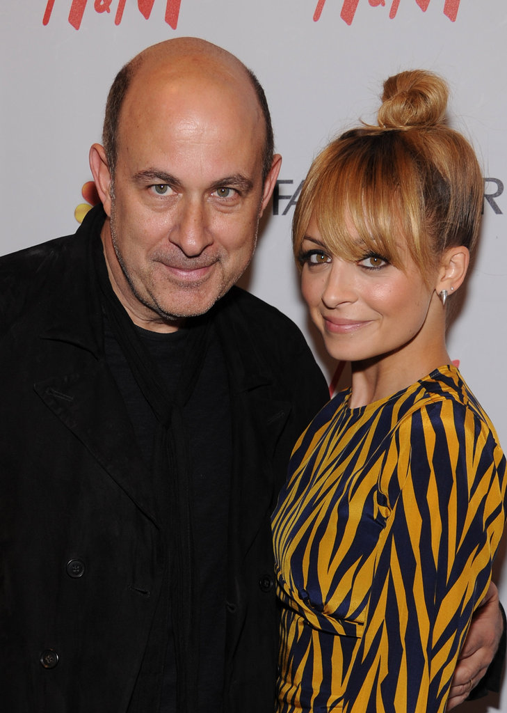Nicole Richie and John Varvatos posed together.