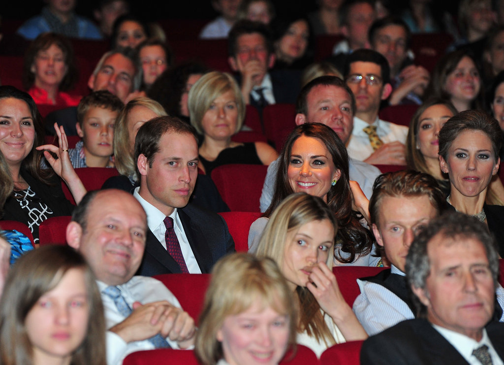 Prince William and Kate Middleton were side by side in April for the London premiere of African Cats in 2012.