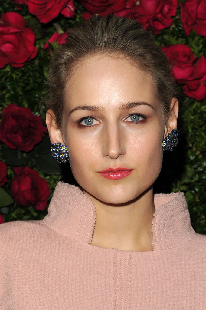 Leelee Sobieski wore Chanel to the Chanel dinner party at the 2012 Tribeca Film Festival.