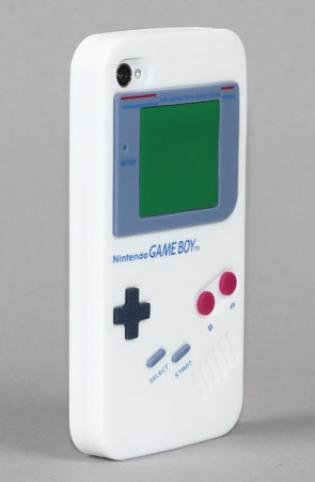 Yamamoto Industries Game Boy iPhone 4/4S White Case ($17)