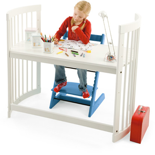 Upcycle Your Changing Table Into a Stokke Desk