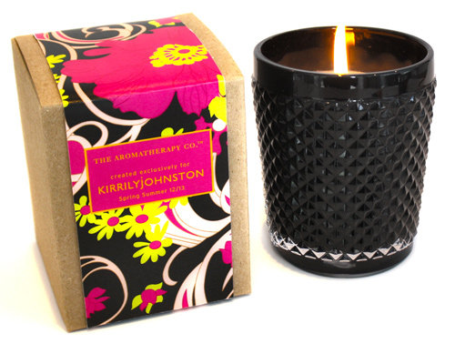 Kirrily Johnston Collaborates With The Aromatherapy Co. on Fashion Week Candle