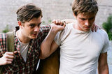 Sam Riley and Garrett Hedlund in On the Road.  Photo courtesy of MK2 Productions