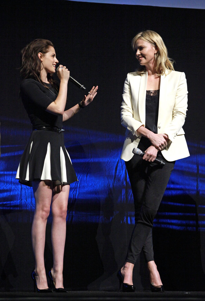 Kristen Stewart and Charlize Theron Bring Snow White to CinemaCon