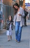 Katie Holmes and Suri Cruise Have a Sweet Night With Cupcakes