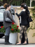Selena Gomez enjoyed the company of her mom during lunch in LA.