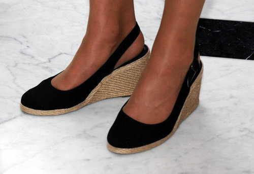 Take a closer look at one of Kate's favorite pair of wedges — her trusty LK Bennetts.